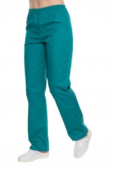 Spodnie zabiegowe zielone