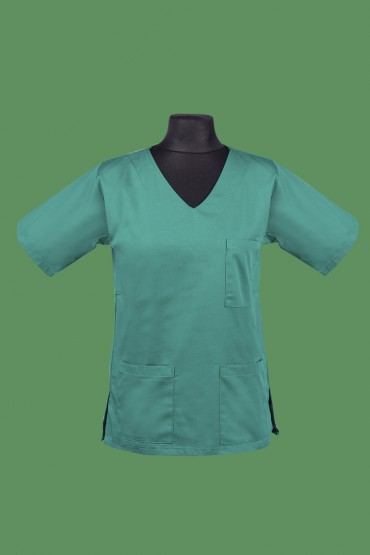 Bluza zabiegowa Op-01 zielona.
